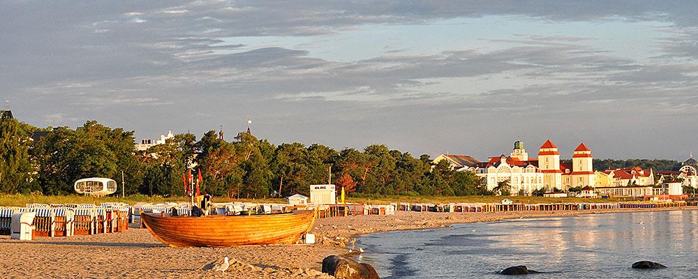 Ostseebad Binz - am Strand